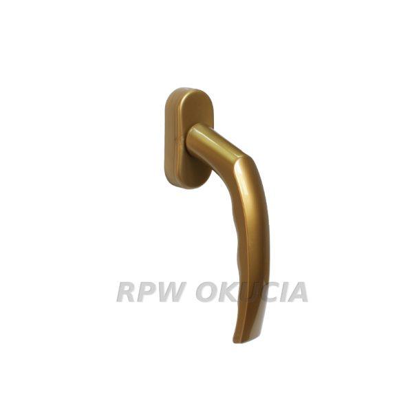 klamki  PCV zlote