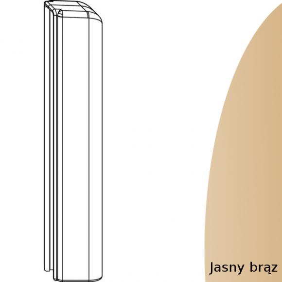 oslonka zawiasu dolnego skrzydla jasnobrazowa