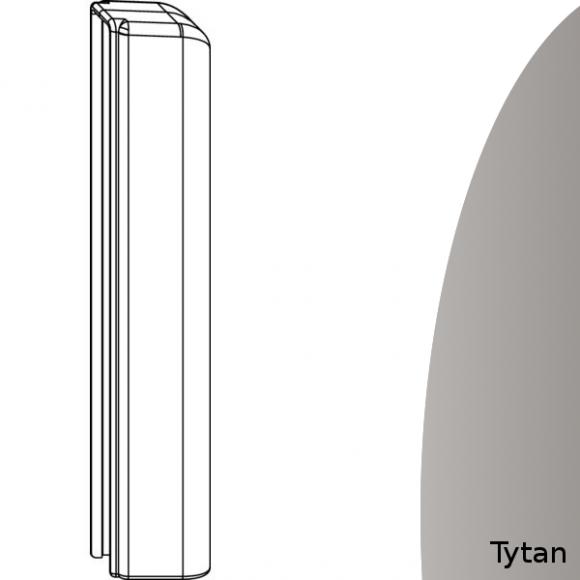 oslonka zawiasu dolnego skrzydla tytanowa